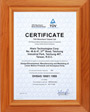 HIWIN Corporation, OHASA 18001 certificate from TUV Germany in 2002