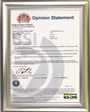 HIWIN Corporation, Product Carbon Footprint PAS 2050-1 Certificate from BSI