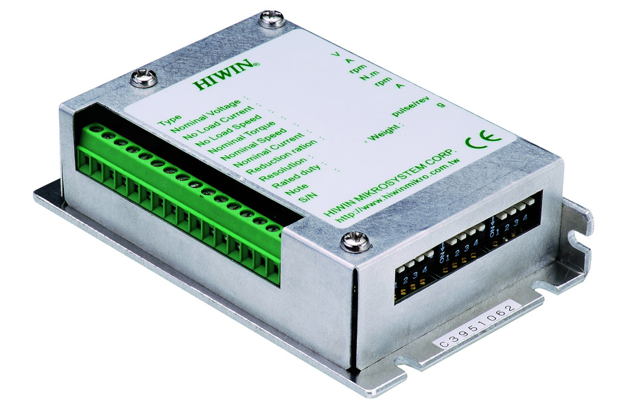 Ac servo motors and drives huntley illinois hiwin for Stepper motor controller software freeware